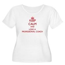 Keep Calm and Love a Professional Coach Plus Size