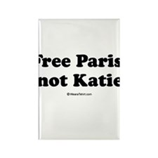 Free Paris, not Katie Rectangle Magnet