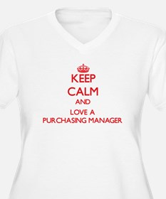 Keep Calm and Love a Purchasing Manager Plus Size
