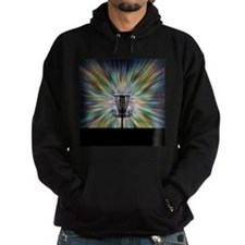 Disc Golf Basket Silhouette Hoody