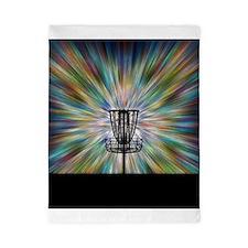 Disc Golf Basket Silhouette Twin Duvet
