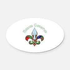 Master Gardener Oval Car Magnet