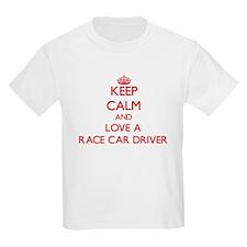 Keep Calm and Love a Race Car Driver T-Shirt