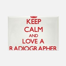 Keep Calm and Love a Radiographer Magnets