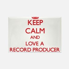Keep Calm and Love a Record Producer Magnets