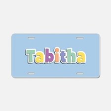 Tabitha Spring14 Aluminum License Plate