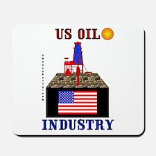 US Oil Mousepad