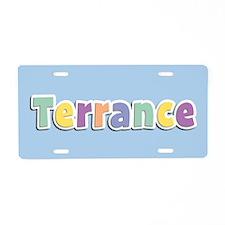 Terrance Spring14 Aluminum License Plate