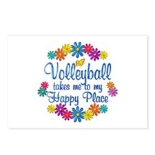 Volleyball Happy Place Postcards (Package of 8)