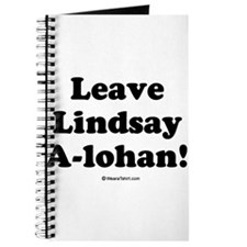 Leave Lindsay A-lohan Journal