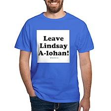 Leave Lindsay A-lohan T-Shirt