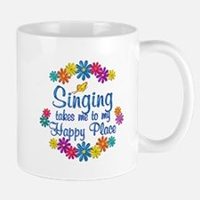 Singing Happy Place Mug