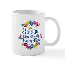 Singing Happy Place Mug