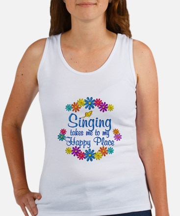 Singing Happy Place Women's Tank Top