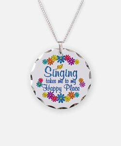 Singing Happy Place Necklace