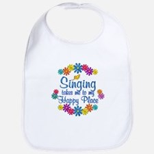 Singing Happy Place Bib
