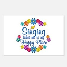 Singing Happy Place Postcards (Package of 8)