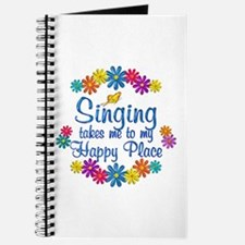 Singing Happy Place Journal