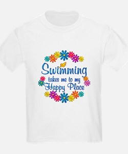 Swimming Happy Place T-Shirt