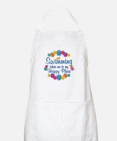 Swimming Happy Place Apron