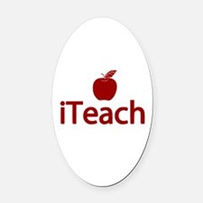 Fun iTeach Oval Car Magnet