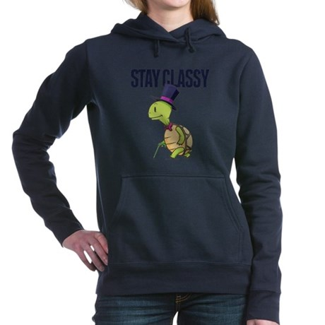 Stay classy Women's Hooded Sweatshirt