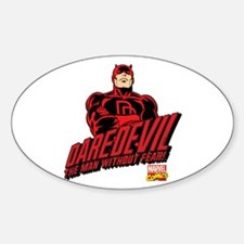 Daredevil Sticker (Oval)