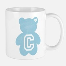 Teddy Bear with Letter C Mugs