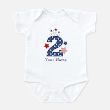 Firecracker 2nd Birthday Infant Bodysuit