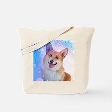 Smiling Corgi Tote Bag