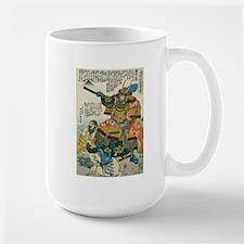 Samurai Kato Kiyomasa Large Mug