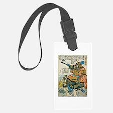 Samurai Kato Kiyomasa Luggage Tag