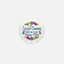 Square Dancing Happy Place Mini Button (10 pack)