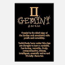 Gemini Postcards (Package of 8)