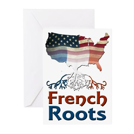 American French Roots Greeting Cards