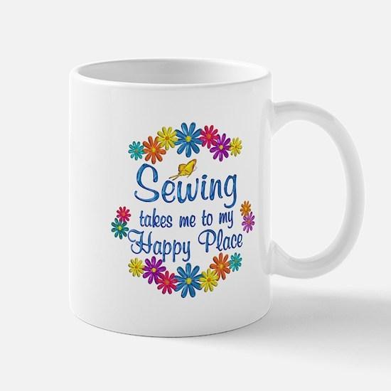 Sewing Happy Place Mug