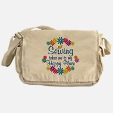 Sewing Happy Place Messenger Bag