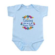 Sewing Happy Place Infant Bodysuit