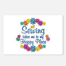 Sewing Happy Place Postcards (Package of 8)