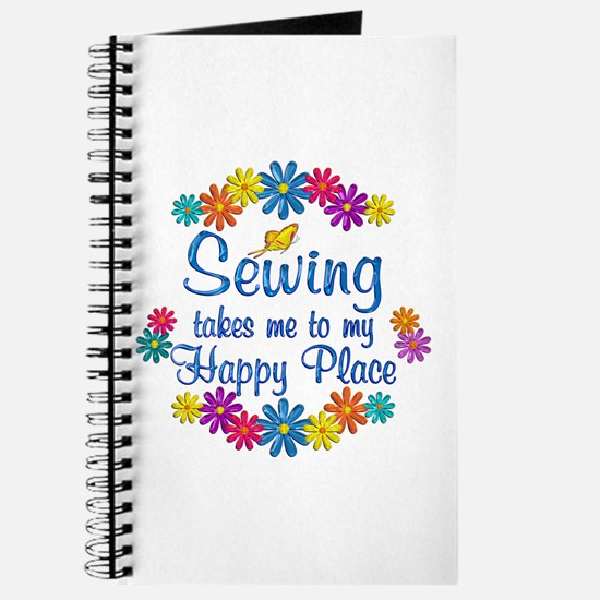 Sewing Happy Place Journal