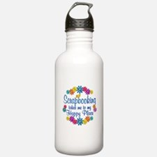 Scrapbooking Happy Pla Water Bottle
