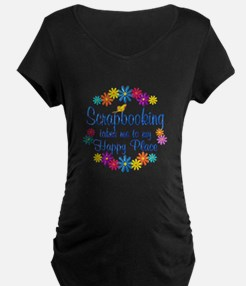 Scrapbooking Happy Place T-Shirt