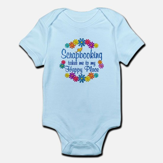 Scrapbooking Happy Place Infant Bodysuit
