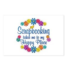 Scrapbooking Happy Place Postcards (Package of 8)