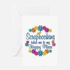 Scrapbooking Happy Place Greeting Card