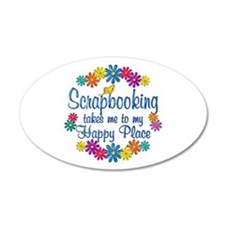 Scrapbooking Happy Place Wall Decal