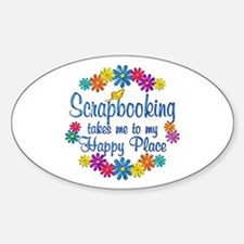 Scrapbooking Happy Place Decal