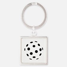 Floorball icon Square Keychain