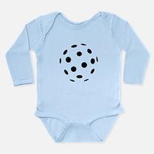 Floorball icon Long Sleeve Infant Bodysuit