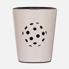 Floorball icon Shot Glass